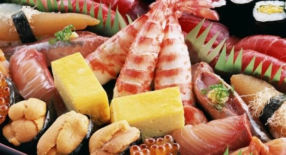 Суши и другие морепродукты